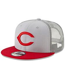 Cincinnati Reds Coop All Day Mesh Back 9FIFTY Snapback Cap