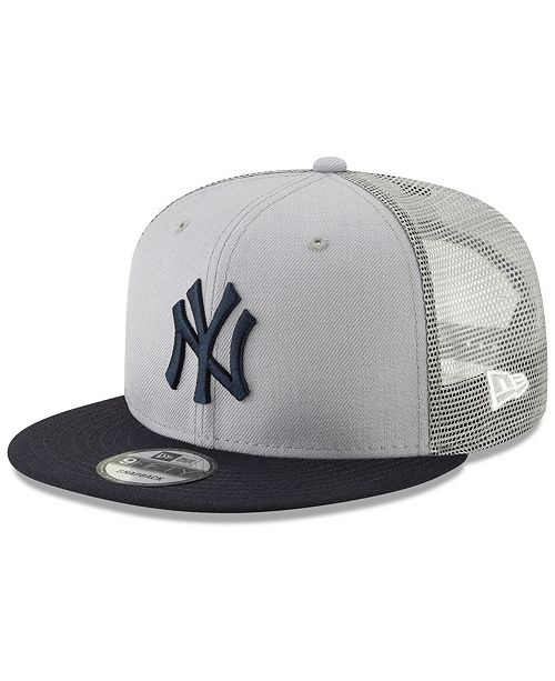 New Era New York Yankees Coop All Day Mesh Back 9FIFTY Snapback Cap