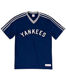 Mitchell & Ness Men's Big & Tall New York Yankees Coop Overtime Vintage Top