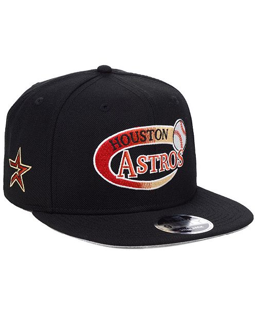 wholesale dealer e9790 af610 ... New Era Houston Astros Swoop 9FIFTY Snapback Cap ...