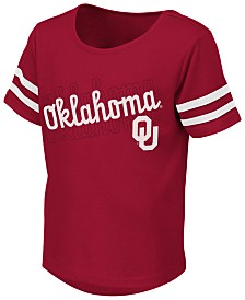 Colosseum Toddlers Oklahoma Sooners Sleeve Stripe T-Shirt
