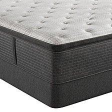 "BRS900-C-TSS 16.5"" Medium Firm Pillow Top Mattress Set - Queen Split, Created for Macy's"