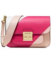 1f5b04addcc6 MICHAEL Michael Kors Sloan Editor Tricolor Shoulder Bag