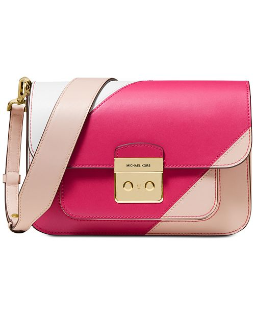 Michael Kors Sloan Editor Tricolor Shoulder Bag & Reviews