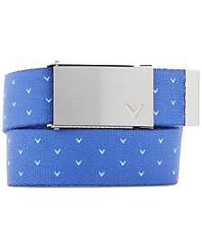 Callaway Plus Size Printed Golf Belt