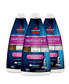 Bissell® 17893 Multi-Surface Formula 3-pack of 32 oz. Bottles