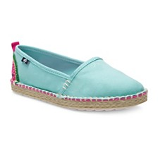 Sperry Toddler, Little, & Big Girls Skysail Espadrille in Watermelon