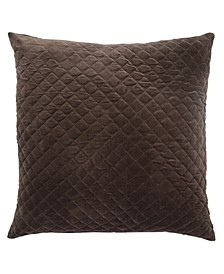 Posh Solid Down Throw Pillow 22""