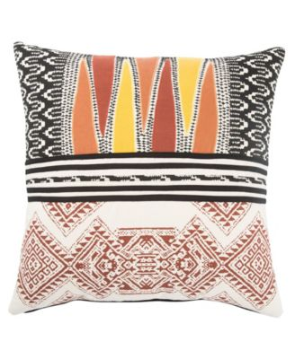 """Museum Ifa By Mesa Geometric Poly Throw Pillow 22"""""""