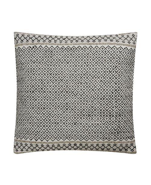 "Jaipur Living Mariscopa Trellis Down Throw Pillow 18"""