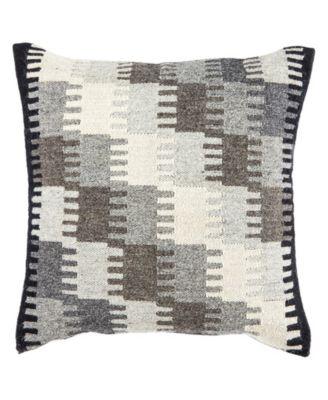 "Terzan Geometric Down Throw Pillow 20"""