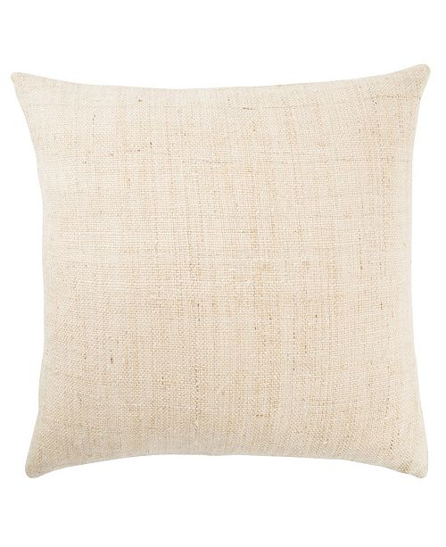 Jaipur Living Crisp Ivory/Beige Textured Poly Throw Pillow 20""