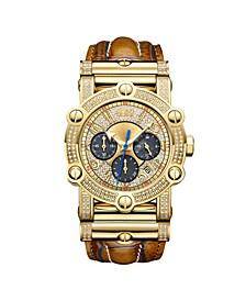 Men's 10 YR Anniversary Phantom Diamond (1 3/4 ct.t.w.) & Chronograph Watch