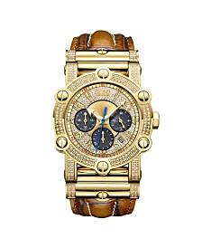 JBW Men's 10 YR Anniversary Phantom Diamond (1 3/4 ct.t.w.) & Chronograph Watch
