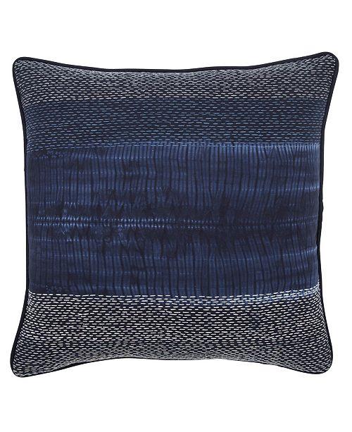 "Jaipur Living Lapis Navy/ Blue Stripe Poly Throw Pillow 20"""