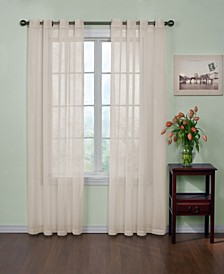"Curtainfresh Grommet Voile 59"" x 95""  Panel"