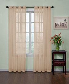 "Curtainfresh Grommet Voile 59"" x 108""  Panel"