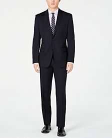 Lauren Ralph Lauren Men's Slim-Fit UltraFlex Navy Solid Suit Separates