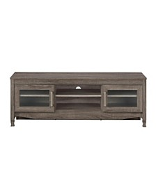 Techni Mobili Driftwood TV Stand, Quick Ship