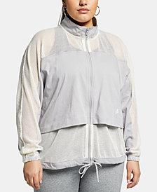 Nike Plus Size Sportswear Mesh Jacket