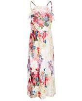 79e723d61 Bonnie Jean Big Girls Floral-Print Pleated Chiffon Dress