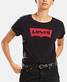 Levi's® Women's Cotton Batwing Perfect Graphic Logo T-Shirt