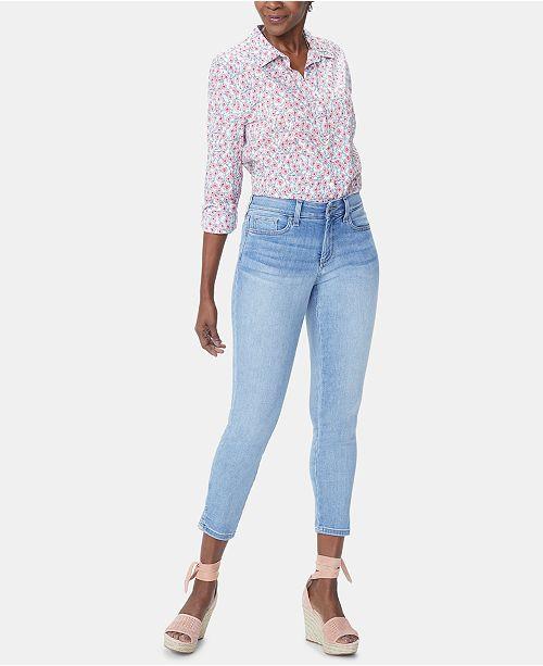 NYDJ Ami Tummy-Control Ankle Skinny Jeans