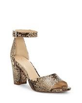 736ff2dc4730 Jessica Simpson Sherron Two-Piece Block-Heel Sandals