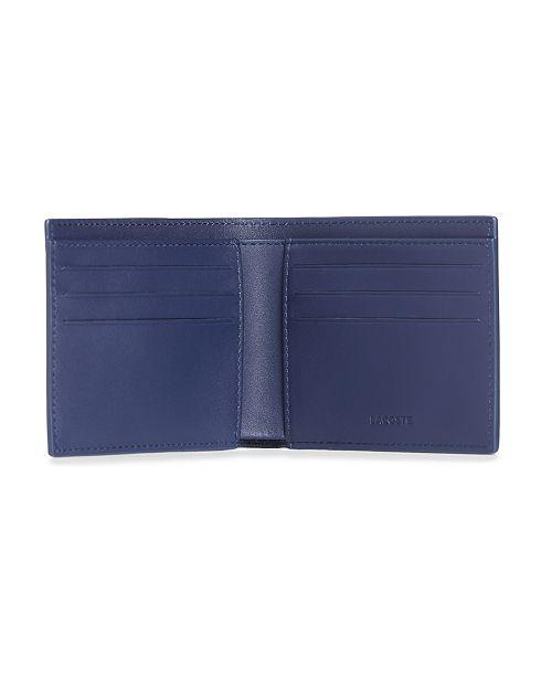 6d3d39c661 Lacoste Men's Fitzgerald Leather Six Card Wallet & Reviews - All ...