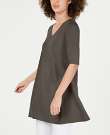 Eileen Fisher Swing Tunic Top