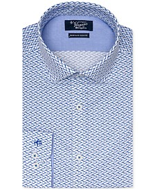 Original Penguin Men's Heritage Slim-Fit Comfort Stretch Printed Dress Shirt