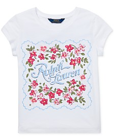 Polo Ralph Lauren Big Girls Cotton Jersey Graphic T-Shirt