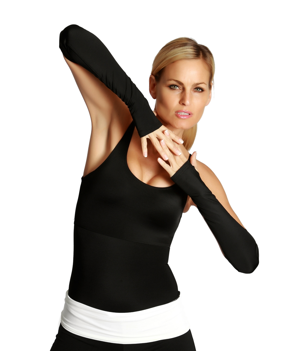 InstantFigure Powerful Compression Long Wrist Guards