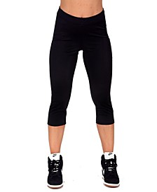 InstantFigure Women's Active Capri Pant, Online Only