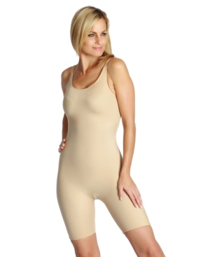 InstantFigure Compression Bodyshaper with Mid-Thigh Length
