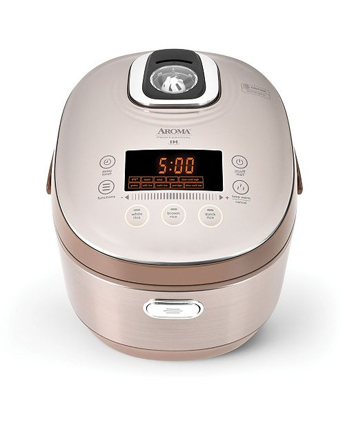 Aromatique Aroma Professional 20-Cup Digital Turbo Convection Induction Rice Cooker/Multicooker