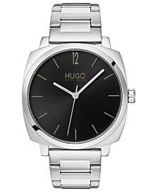 HUGO Men's #Own Stainless Steel Bracelet Watch 40mm