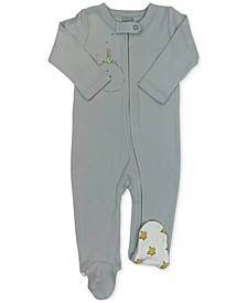 Little Prince Baby Girls & Boys Organic Cotton 2-Pc. Coverall & Hat Set