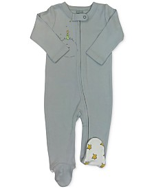 finn + emma Little Prince Baby Girls & Boys Organic Cotton 2-Pc. Coverall & Hat Set