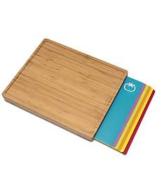 Lipper International Cutting Board with 6 Cutting Mats