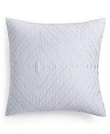 "Diamond Stripe 20"" Square Decorative Pillow"
