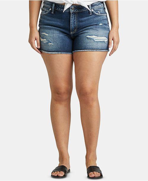 Silver Jeans Co. Plus Size Suki Jean Shorts