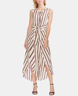 Vince Camuto Dresses CARAVAN STRIPE TIE-FRONT DRESS