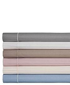 Silky Soft Long Staple Cotton Stripe California King Sheet Set