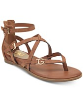9b1ad55376555 G by GUESS Carlyn Flat Sandals