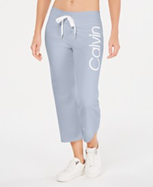 Calvin Klein Performance Logo Cropped Sweatpants