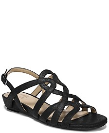 Naturalizer Raine Strappy Wedge Sandals