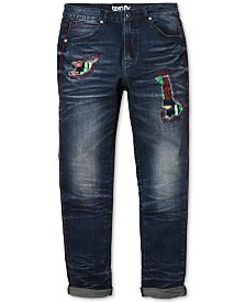 Born Fly Men's Slim-Straight Fit Jeans