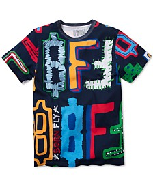 Born Fly Men's Logo Graphic T-Shirt