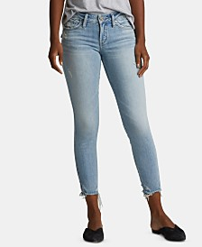 Silver Jeans Co. Suki Cropped Skinny Jeans